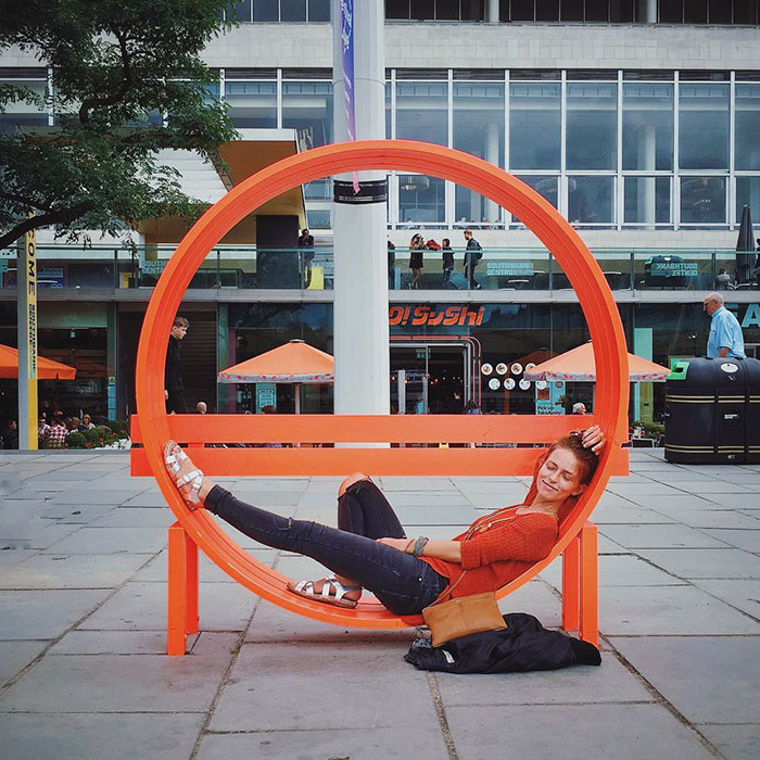 Bench In London