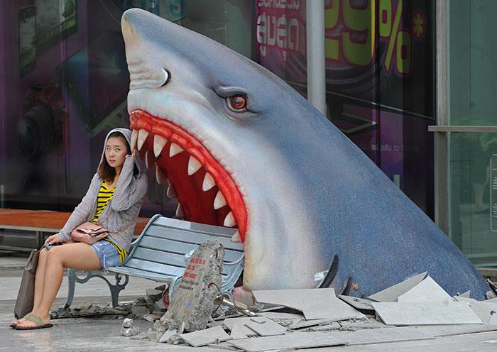 Funny City Bench, Bangkok