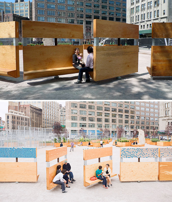 Creative Benches In New York