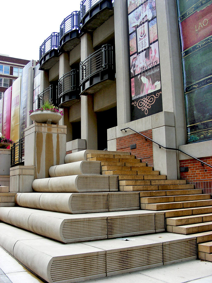 Kansas City Public Library Stairs