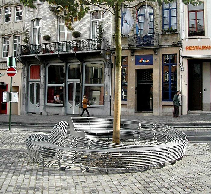 Circular Bench Bruxelles