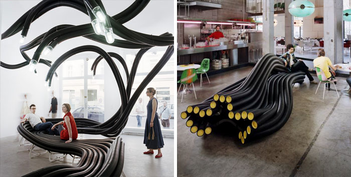 Onsite Benches By Sebastien Wierinck, Berlin, Germany And Paris, France
