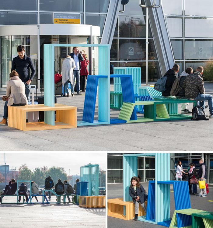 Flexible Seating By Izabela Bołoz, Gdynia, Poland