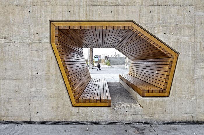 Bench By Alleswirdgut Architektur, Luxembourg