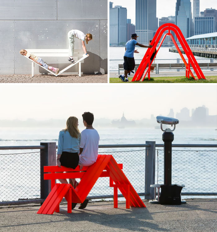 Modified Social Benches In Ny