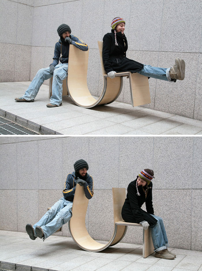 Swinging Bench By Neulhae Cho