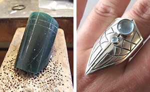 From Wax To Jewelry: I Handcrafted A Silver Claw Ring