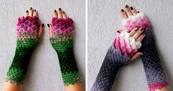 Dragon Gloves Knitting Pattern : These Dragon Gloves With Crochet Scales Will Protect You ...