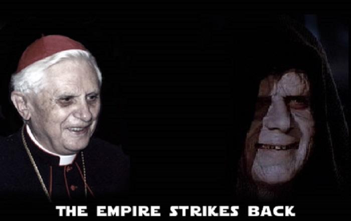 Starwars The Dark Lord Ratzinger Sidious