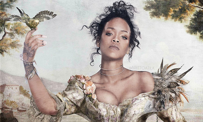 Celebrities Become Models For Classical Paintings