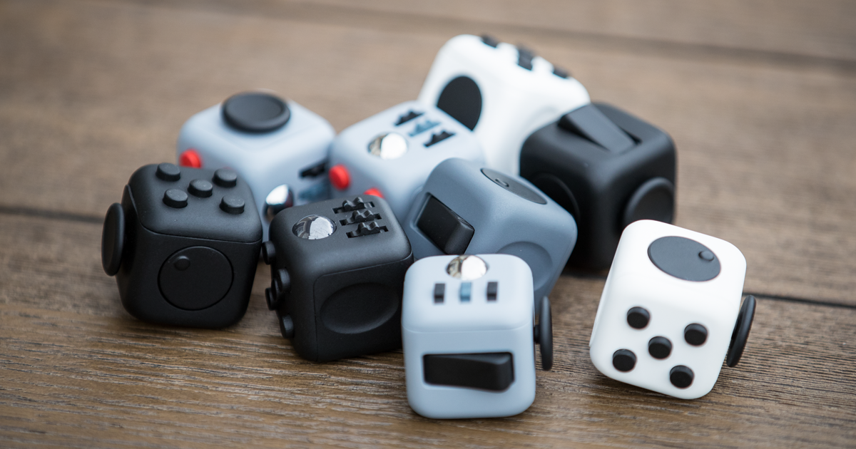 This Fidget Cube Is A 6 Sided Desk Toy That Will Keep Your Restless Fingers Busy