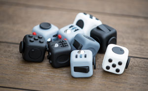 This Fidget Cube Is A 6-Sided Desk Toy That Will Keep Your Restless Fingers Busy