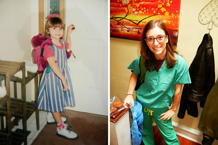 First Day Of Kindergarten And Last Day Of Medical School