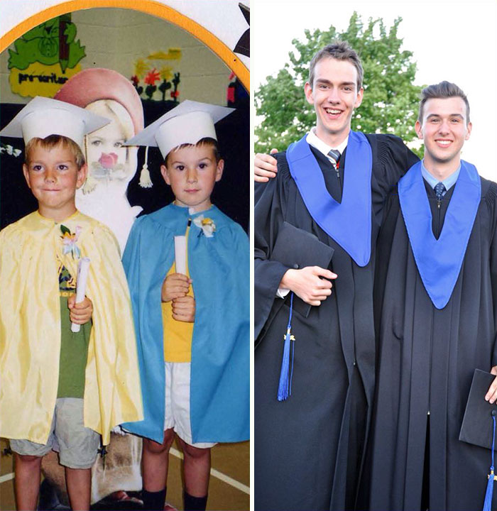 Me And My Best Friend - Kindergarten Graduation To High School Graduation
