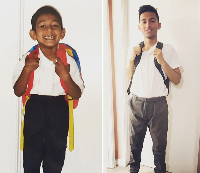 First Day Of School And Last Day Of High School