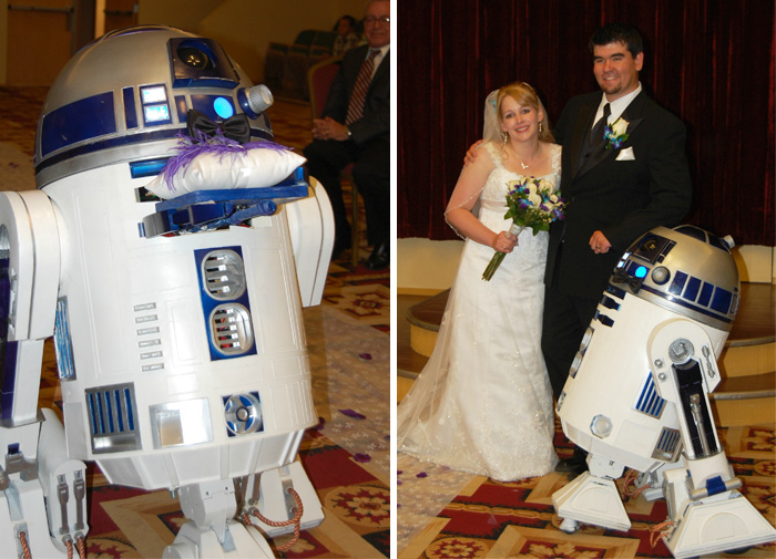 Not A Big Deal Or Anything, But R2D2 Was My Ring Bearer