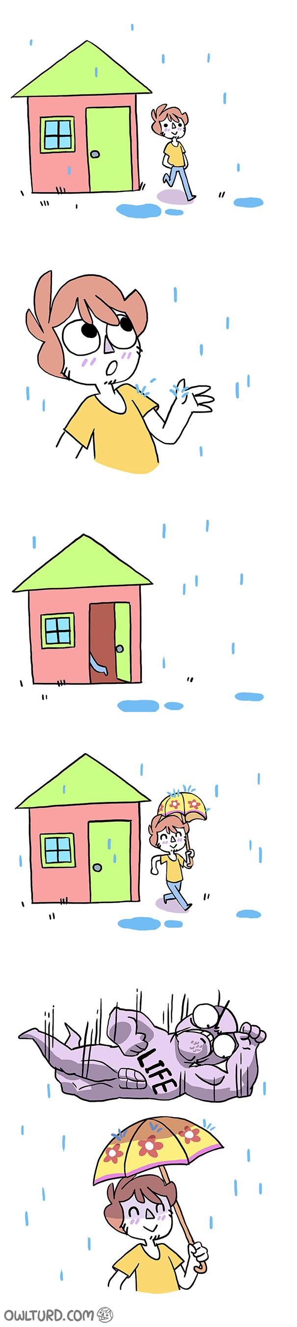Umbrellas Are Nice