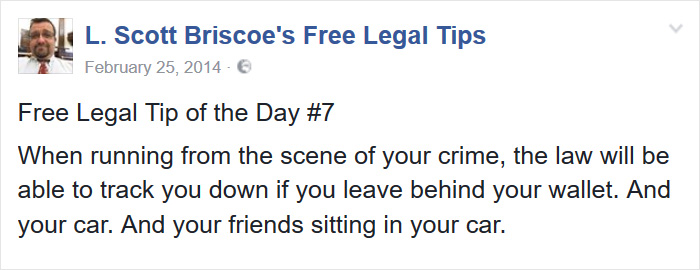 Free Legal Tips