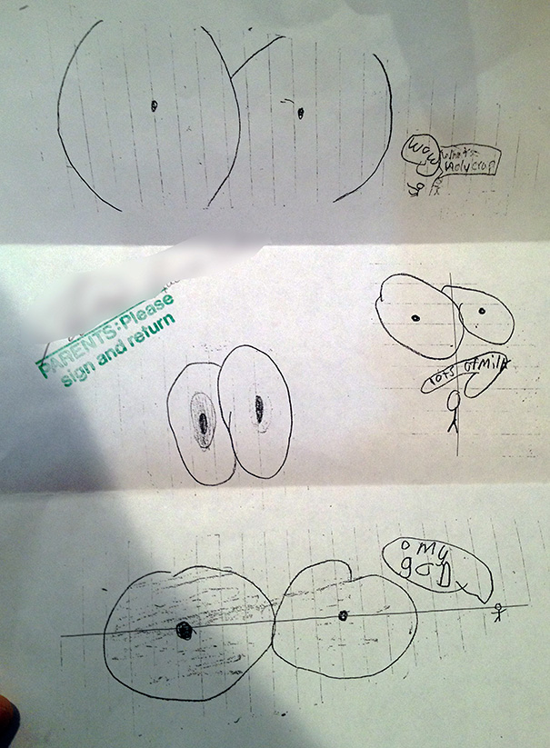 My Son Got In Trouble For Drawing Eyes At School