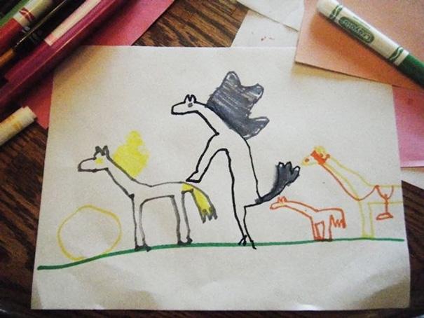 Happy Horse Family
