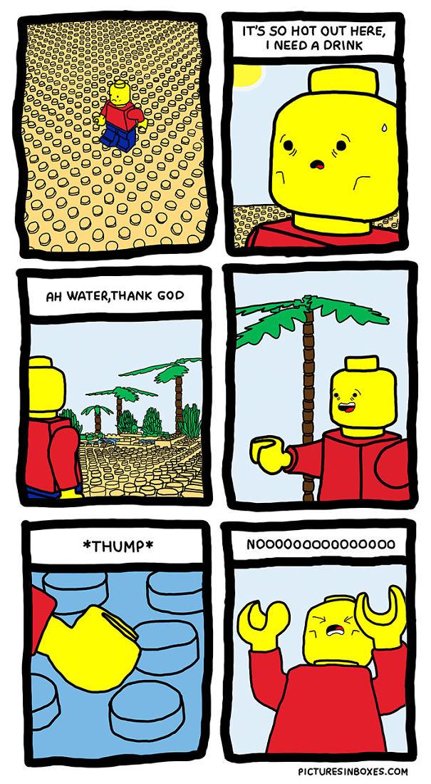 Lego Desert