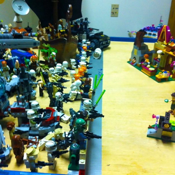 My Friend Told His Kids They Had To Share The Lego Table - This Is The Outcome
