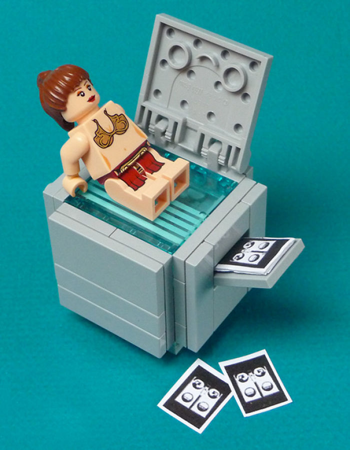 Lego Leia Had A Few Drinks At The Office Party
