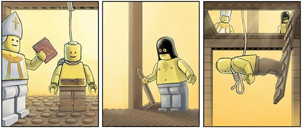 His Feet Won't Lego