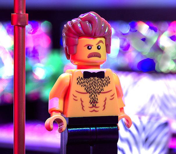 Lego Stripper Ron Swanson?