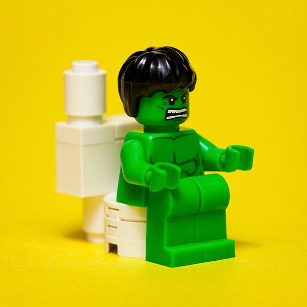 Diarrhea Makes Hulk Angry