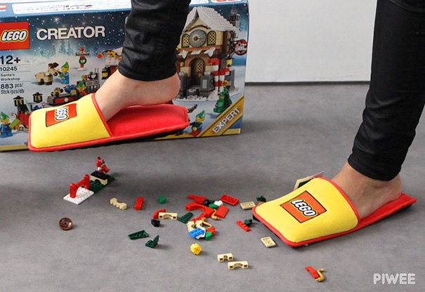 Someone Actually Made Anti-Lego Slippers