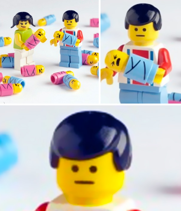 LEGO Dad Is Not Impressed