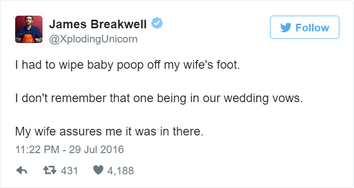 Funny Married Life Tweet