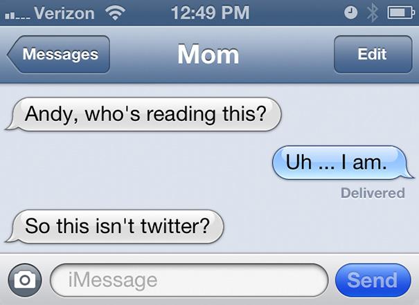 It's Not Twitter?