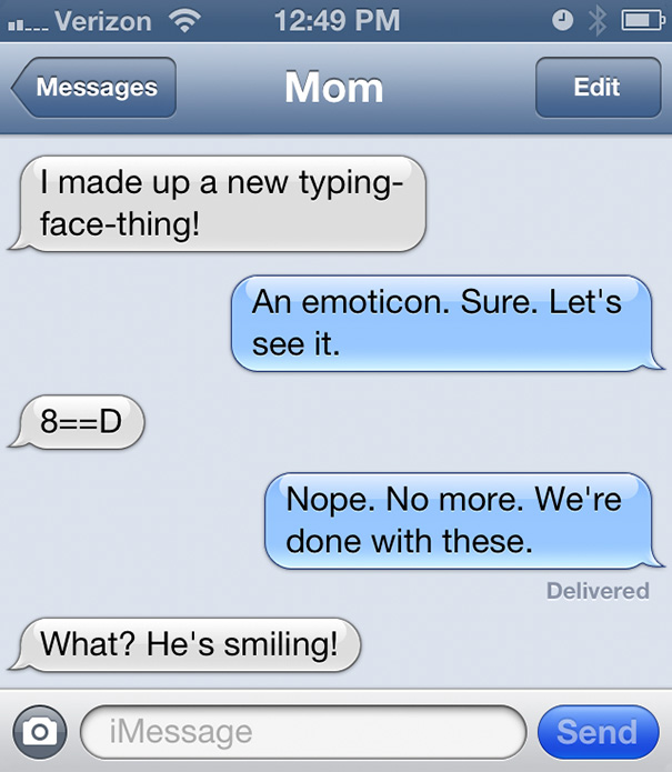 15+ Of The Funniest Texts From Moms Ever | Bored Panda  |Dumb Mom Texts