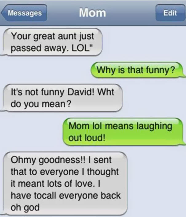 61 of the funniest texts from moms ever bored panda
