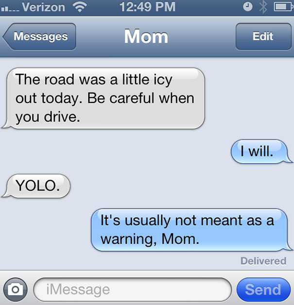 Friday Funny: Texts from Mom | A Touch of Cass  |Dumb Mom Texts