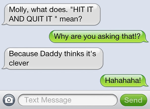 Daddy Thinks It's Clever