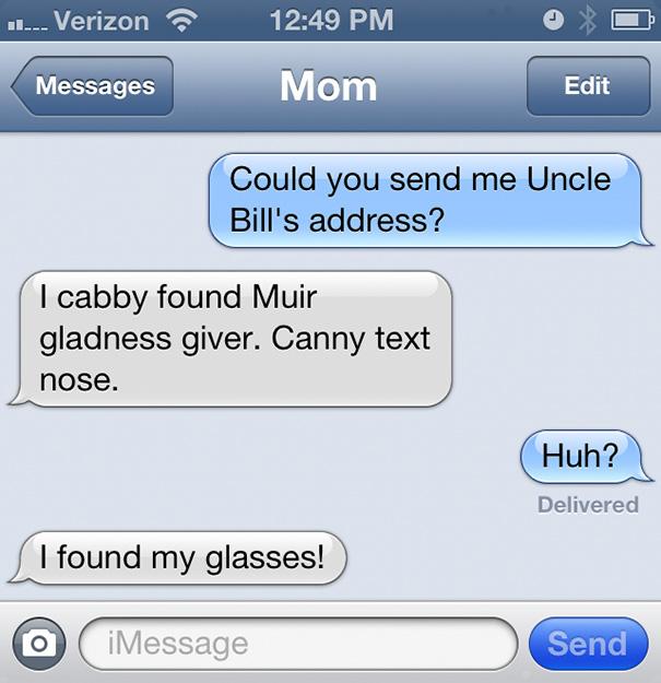 Found My Glasses!