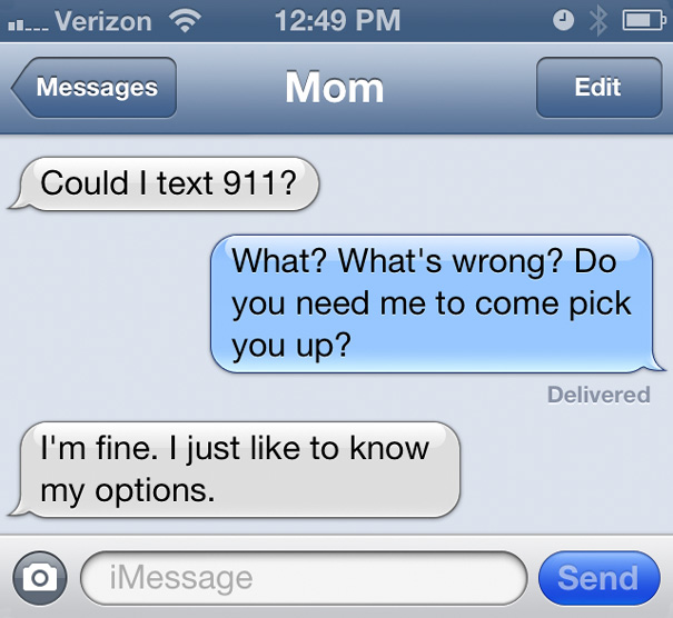 61 Of The Funniest Texts From Moms Ever | Bored Panda  |Dumb Mom Texts