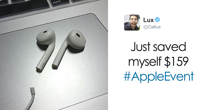 80 Of The Funniest Reactions To The New iPhone 7