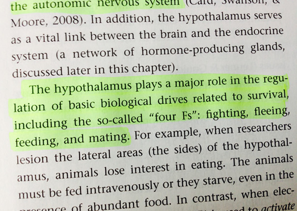 Well Played, Biology Textbook. I See What You Did There