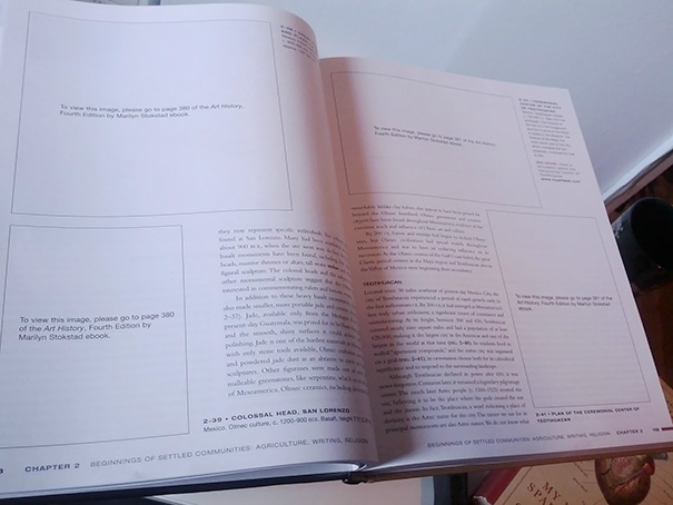 Art History Textbook Without Any Art