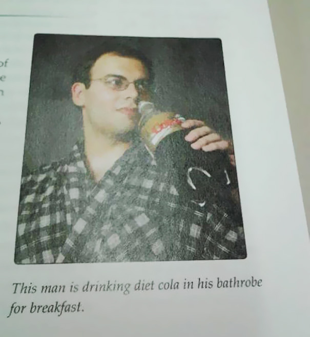 Found A Very Sad Man In My Social Psychology Textbook