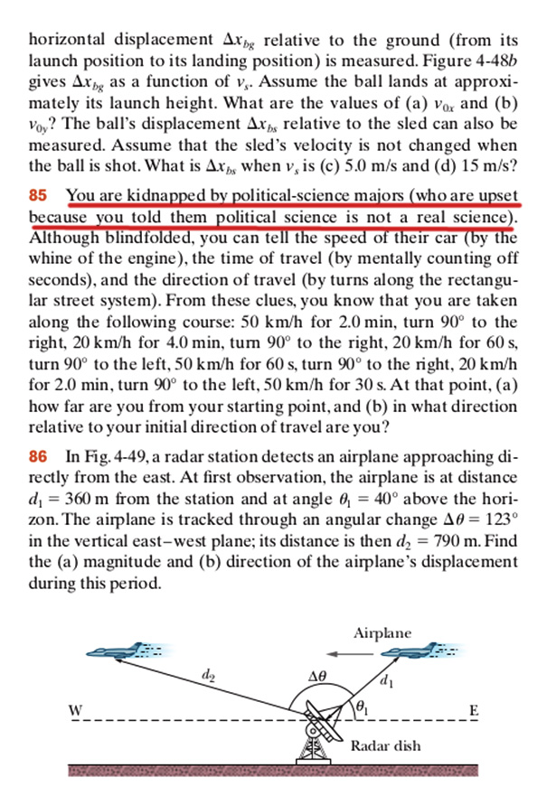 This Is An Actual Problem From A Physics Textbook
