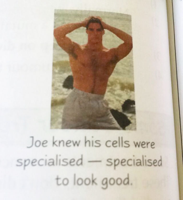 This Was In My Friends Biology Textbook
