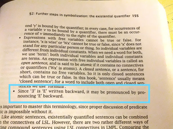 I Think My Textbook Is Trolling Me