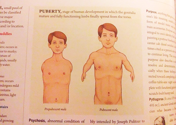 I Don't Think That's Quite How Puberty Works