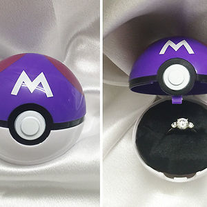 Pokeball Engagement Ring Box
