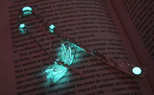 Magical Glow-In-The-Dark Bookmarks By Manon Richard